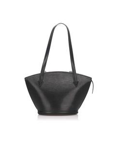 Louis Vuitton Epi Saint Jacques Long Strap Pm Black