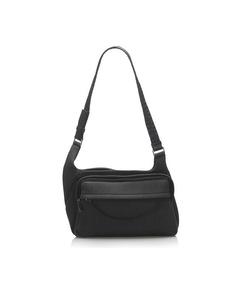 Prada Wool Shoulder Bag Gray