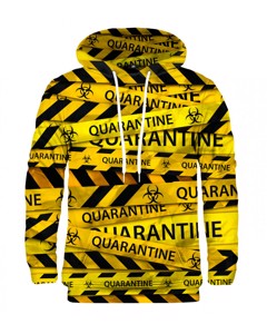 Mr. Gugu Miss Go Quarantine Hoodie Yellow