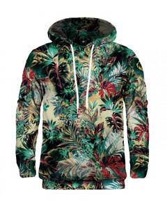 Mr. Gugu & Miss Go Tropical Jungle Unisex Hoodie Mantis Green
