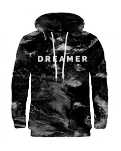 Mr. Gugu & Miss Go Dreamer Unisex Hoodie Magnetic Black