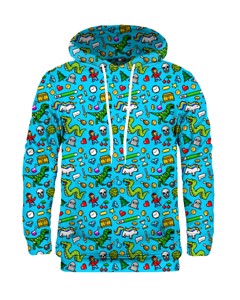Mr. Gugu Miss Go Rpg Hoodie Blue