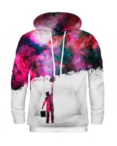 Mr. Gugu Miss Go Paint My Galaxy Hoodie White