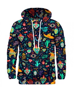 Mr. Gugu Miss Go Colorful Mexico Hoodie Black