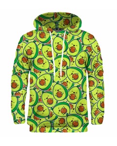 Mr. Gugu Miss Go Kawaii Avocado Hoodie Green