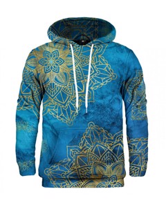 Mr. Gugu Miss Go Gold Boho Hoodie Blue