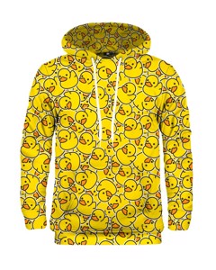 Mr. Gugu Miss Go Rubber Duck Hoodie Yellow
