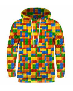 Mr. Gugu & Miss Go Blocks Unisex Hoodie Happy Rainbow