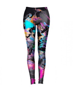 Mr. Gugu & Miss Go Space Colours Leggings Slate Blue