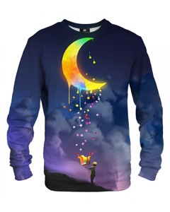 Mr. Gugu & Miss Go Gifts From The Moon Unisex Sweater Indigo Blue