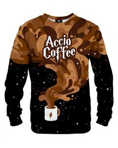 Mr. Gugu & Miss Go Accio Coffee Unisex Sweater Mocha Brown