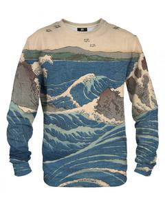 Mr. Gugu & Miss Go Naruto Whirlpools Unisex Sweater Stone Beige
