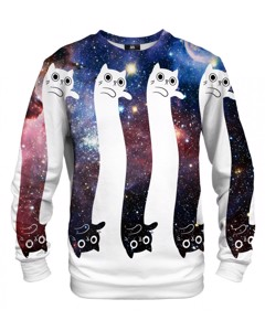 Mr. Gugu & Miss Go To The Infinity... And Beyond! Unisex Sweater Sangria Violet