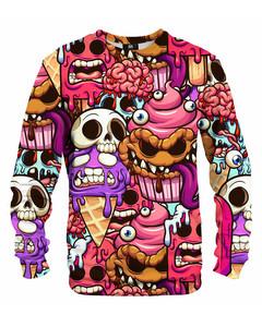 Mr. Gugu & Miss Go Zombie Ice Cream Unisex Sweater Glam Pink