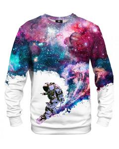 Mr. Gugu Miss Go Surfing Cosmonaut Sweater White