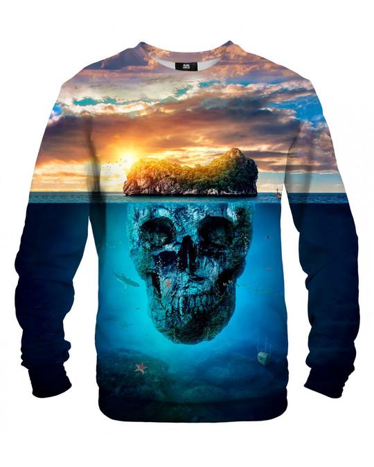 Mr. Gugu & Miss Go Mr. Gugu Miss Go Skull Island Sweater Blue