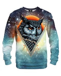 Mr. Gugu & Miss Go Owl Constellation Unisex Sweater Blue Navy