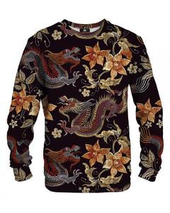 Mr. Gugu Miss Go Japan Dragon Sweater Brown
