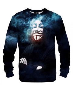 Mr. Gugu & Miss Go Anonymous Unisex Sweater Smoky Black