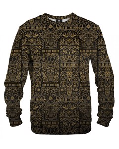 Mr. Gugu & Miss Go Day Of Dead Unisex Sweater Copper Gold