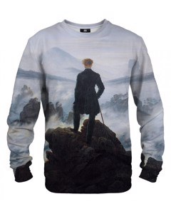 Mr. Gugu Miss Go Wanderer Above The Sea Of Fog Sweater White