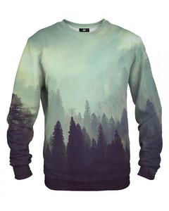 Mr. Gugu & Miss Go Old Forest Unisex Sweater Fern Green