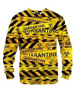 Mr. Gugu & Miss Go Quarantine Unisex Sweater Sharp Yellow