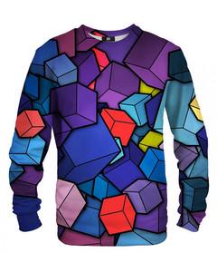 Mr. Gugu & Miss Go 3d Unisex Sweater Mauve Purple