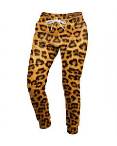Mr. Gugu & Miss Go Leopard Spots Unisex Sweatpants Fulvous Orange