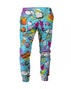 Mr. Gugu & Miss Go Comics Unisex Sweatpants Arctic Light Blue
