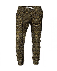 Mr. Gugu Miss Go Day Of Dead Sweatpants Black