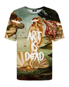 Mr. Gugu Miss Go Art Is Dead T-shirt Green