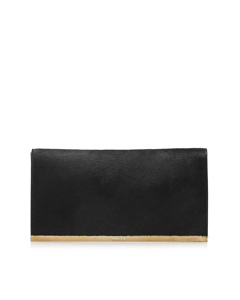 Gucci Pony Hair Clutch Bag Black