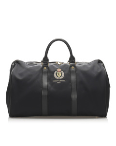 Valentino Nylon Boston Bag Black