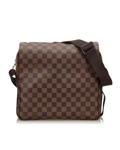 Louis Vuitton Damier Ebene Naviglio Brown