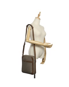 Gucci Diamante Crossbody Bag Brown