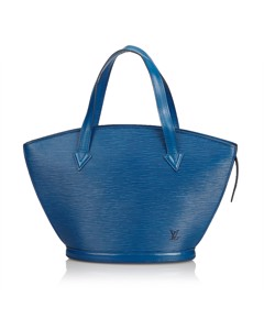 Louis Vuitton Epi Saint Jacques Pm Short Strap Blue