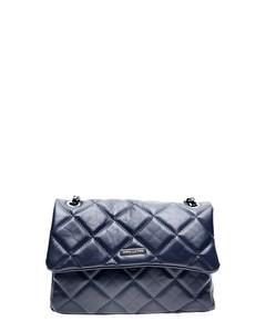 Top Handle Bag Blu Scuro