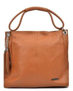 Top Handle Bag Cognac