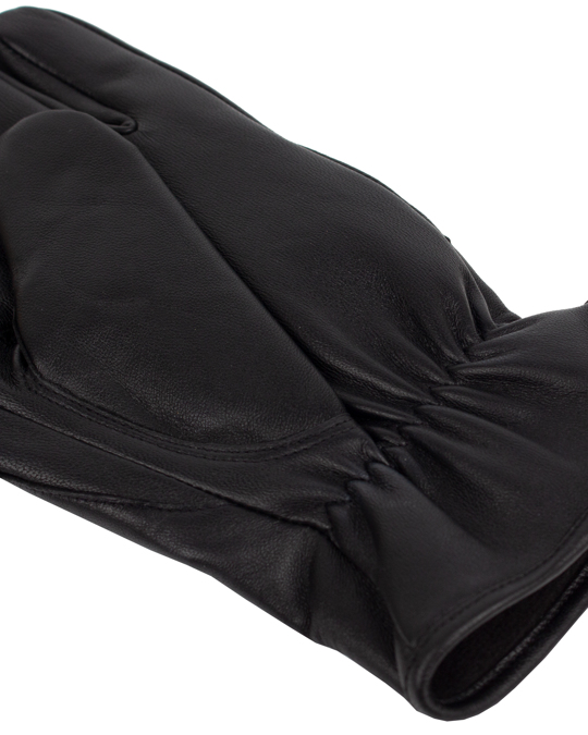 Handskkompaniet Men's Glove Sheepskin Precurved Black