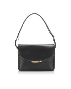 Dior Leather Shoulder Bag Black