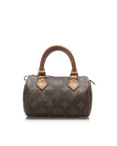 Louis Vuitton Monogram Mini Speedy Brown