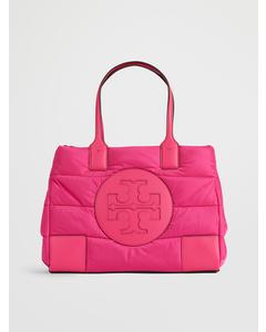 Ella Mini Puffer Tote Bright Pink