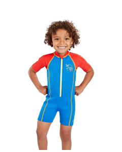 Seasquad Hot Tot Suit Inf - Blue/red