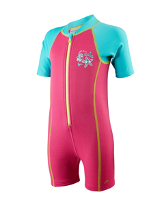 Seasquad Hot Tot Suit Inf - Pink/blue