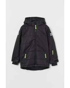 Waterproof Ski Jacket Black