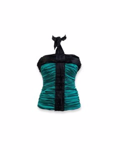 Dolce & Gabbana Green Silk Handbag Model: Bustier