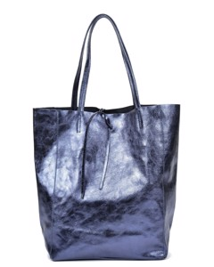 Shopper Bag Blu Scuro