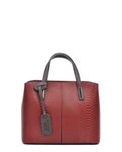 Top Handle Bag Rosso
