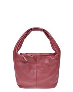 Top Handle Bag Rosso Scuro